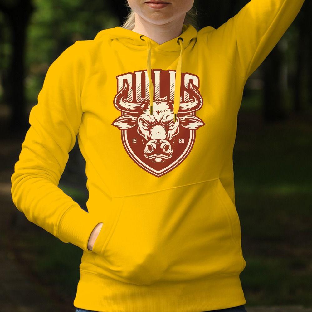 Dámska mikina s potlačou Bulls