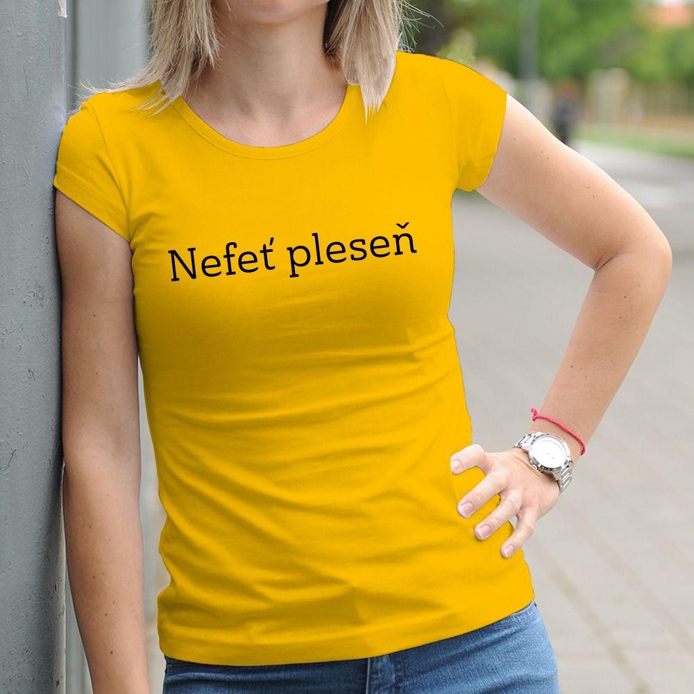 Dámske tričko s potlačou Nefeť pleseň
