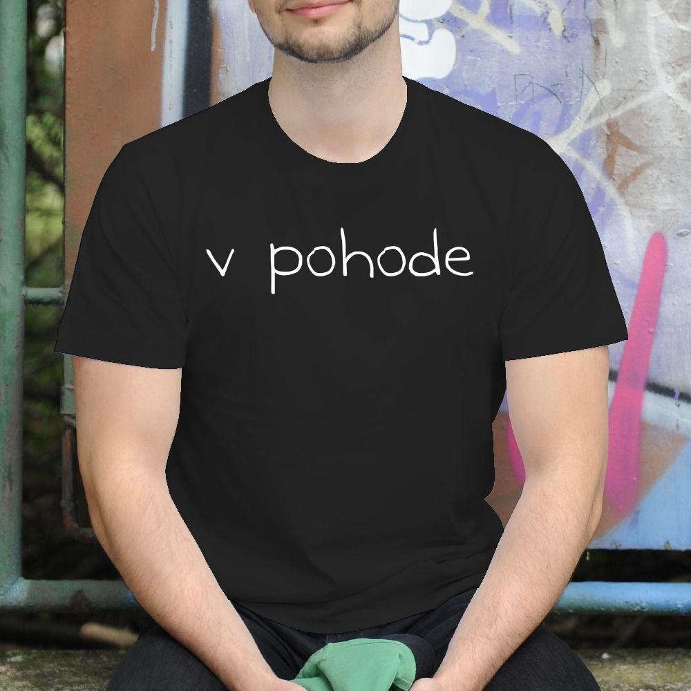 Pánske tričko s potlačou V pohode