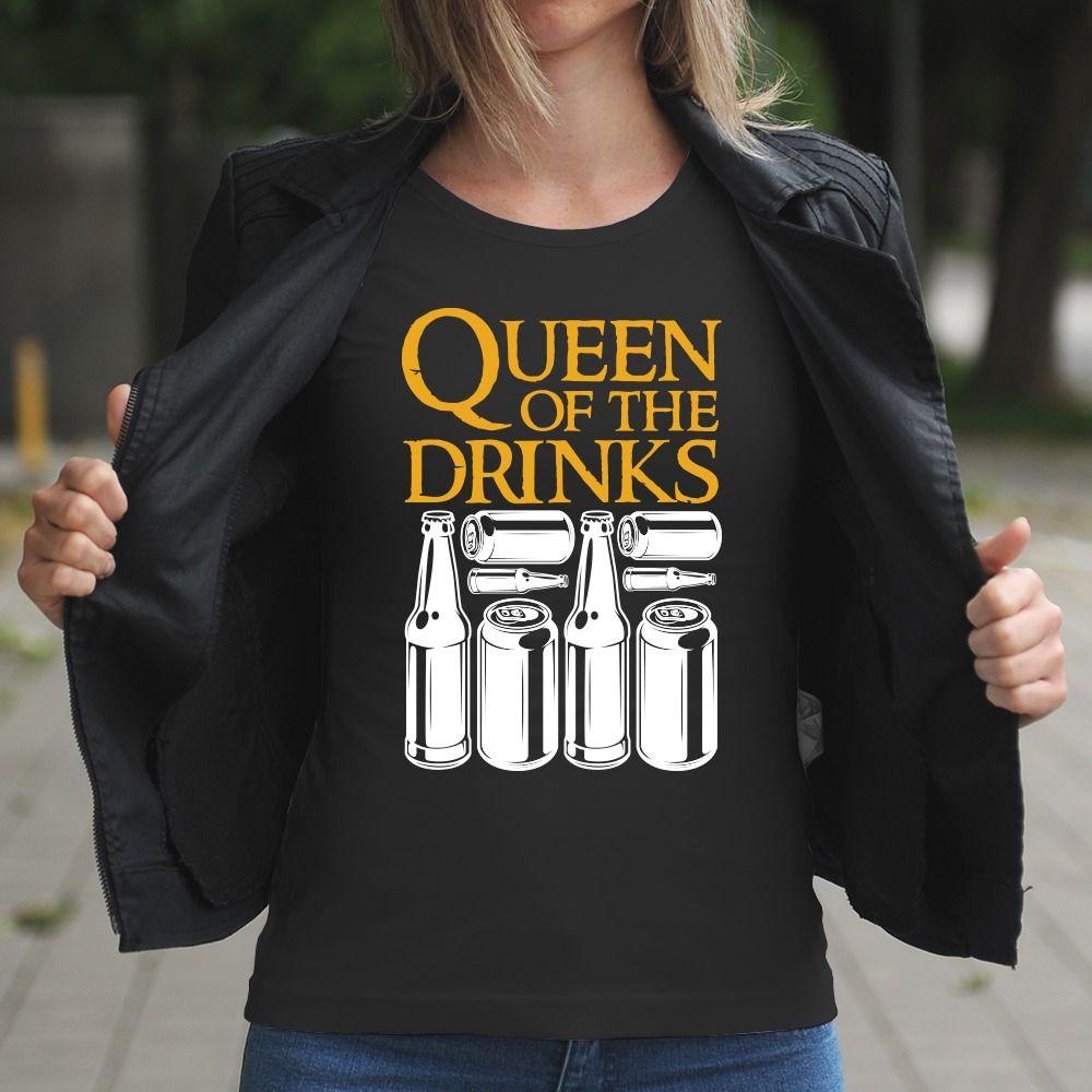 Dámske tričko s potlačou Drink