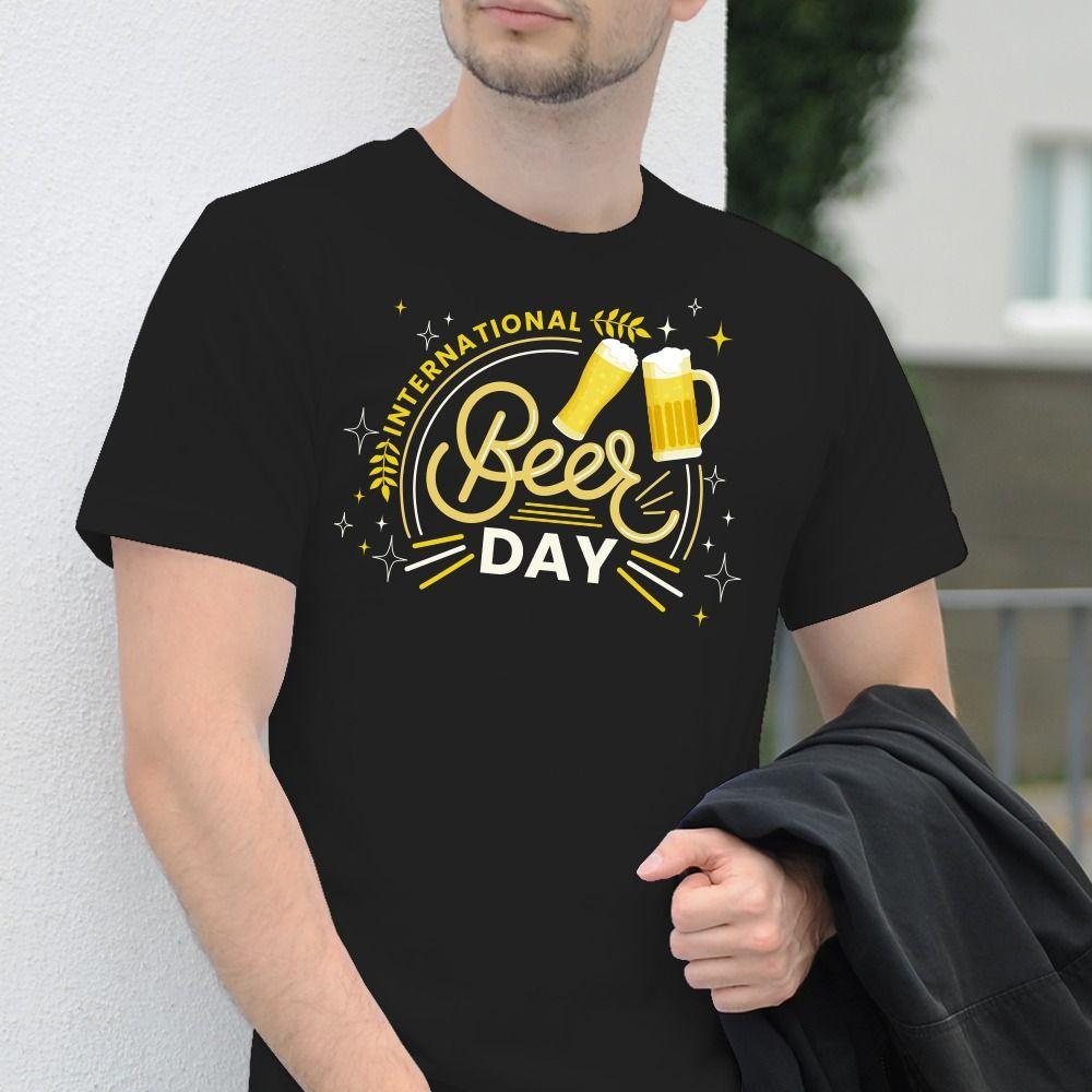 Pánske tričko s potlačou Pivko