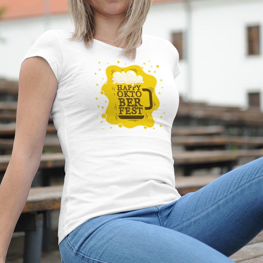 Dámske tričko s potlačou Oktoberfest