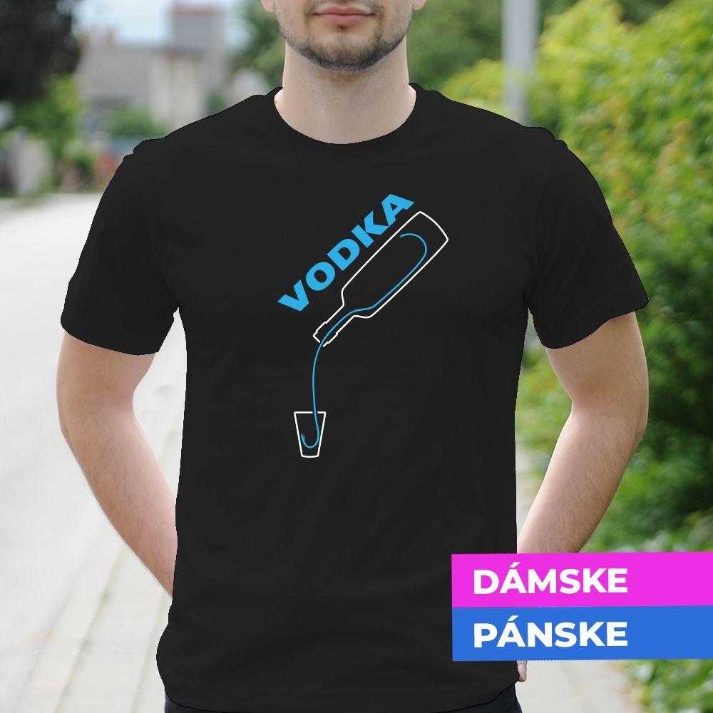 Tričko s potlačou Vodka