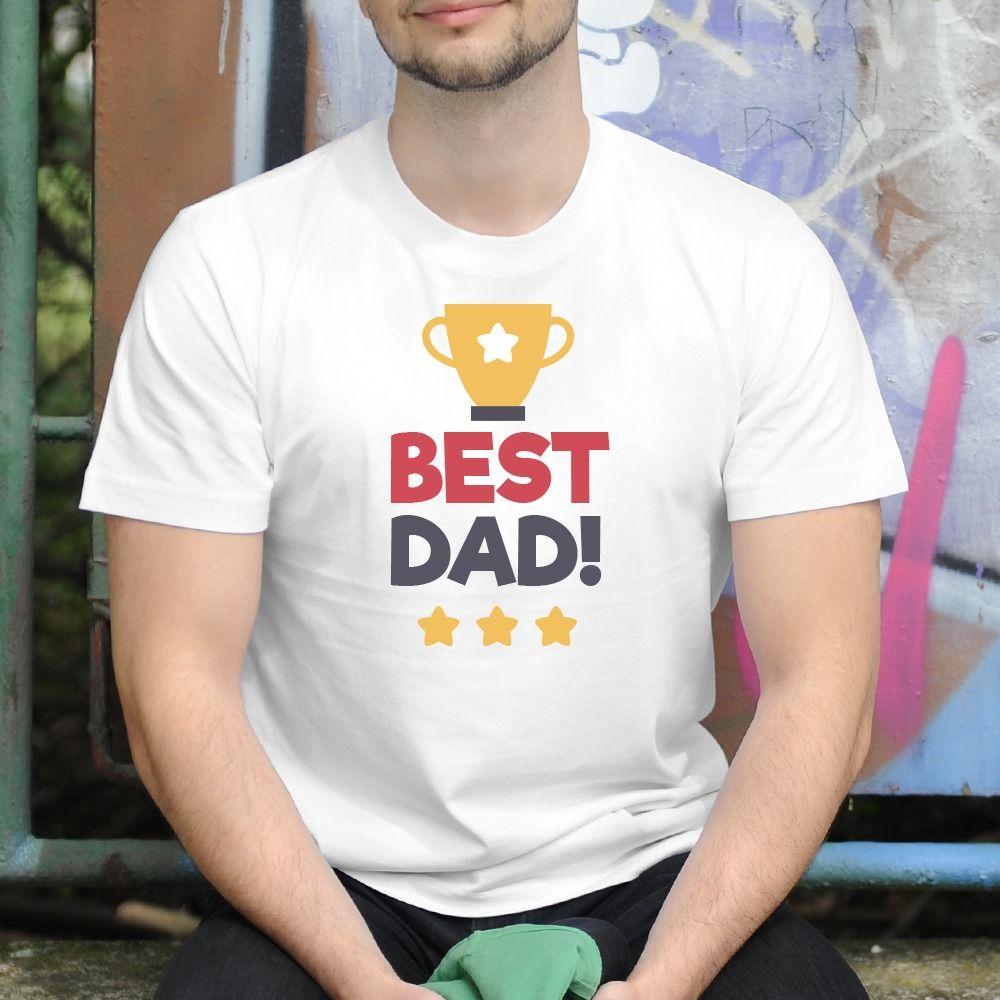 Pánske tričko s potlačou Best dad