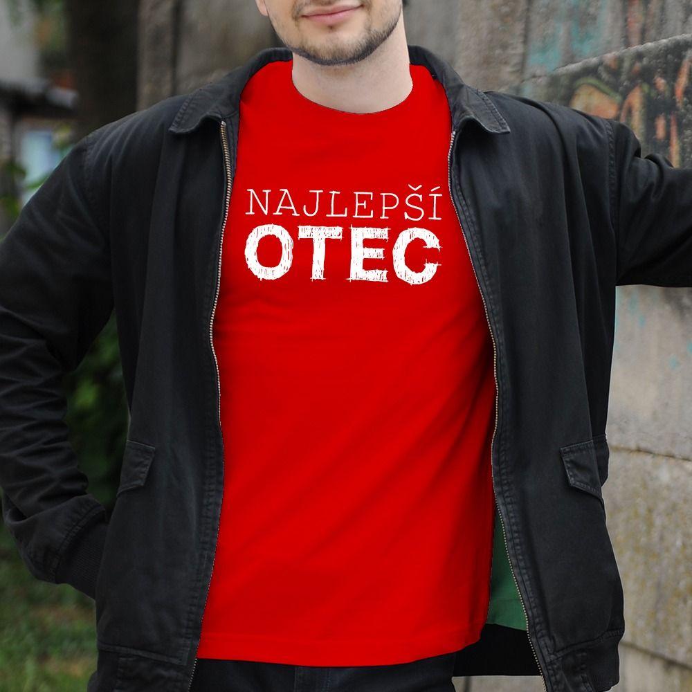 Pánske tričko s potlačou Najlepší otec