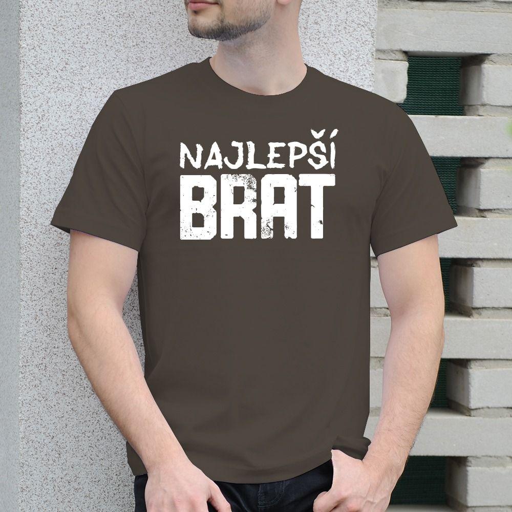 Pánske tričko s potlačou Najlepší brat