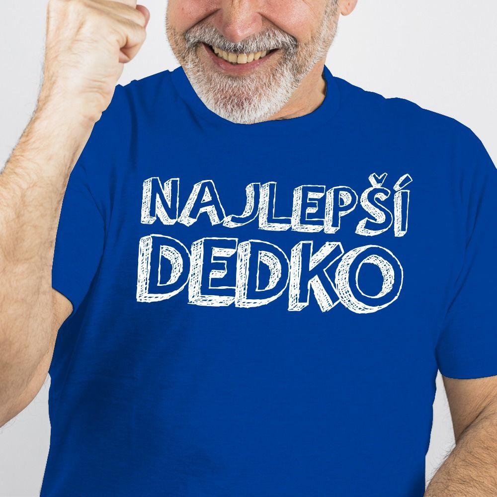 Pánske tričko s potlačou Najlepší dedko