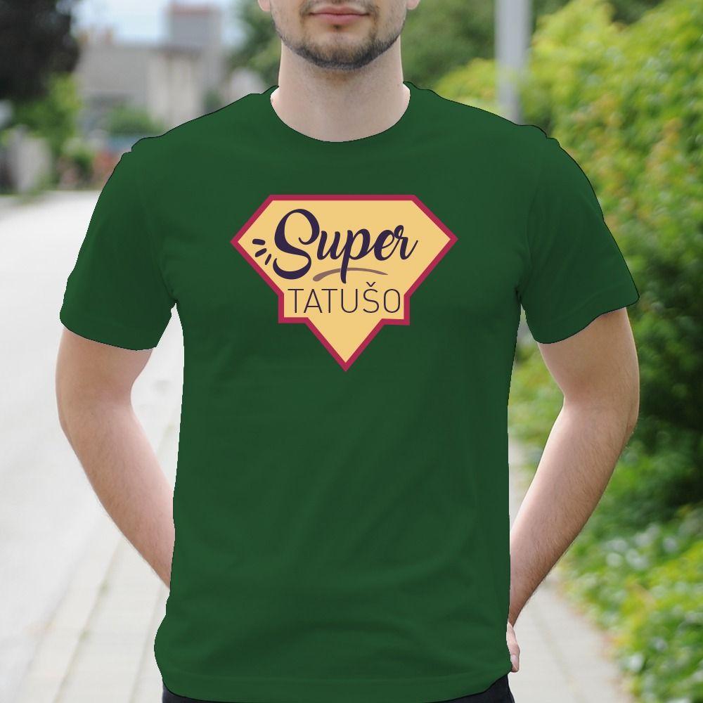 Pánske tričko s potlačou Super tatušo