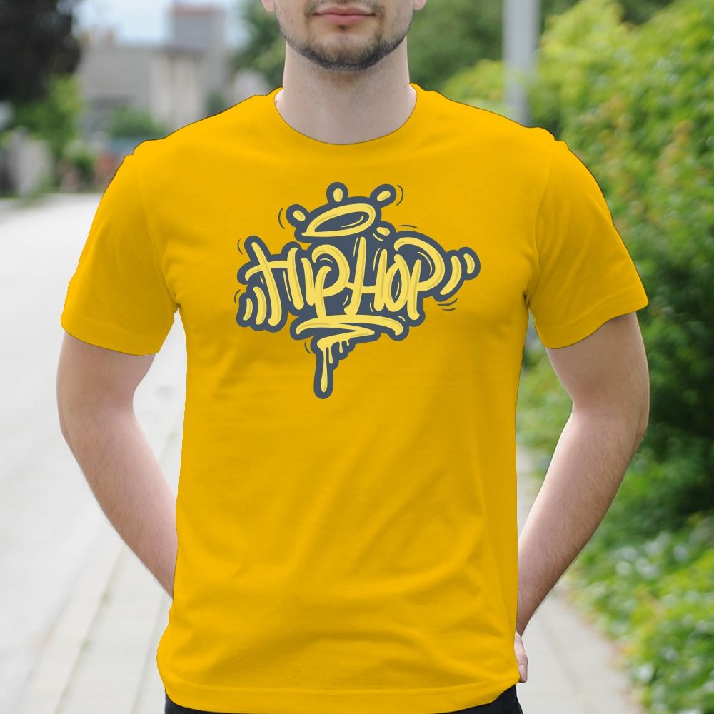Pánske tričko s potlačou Hip-hop