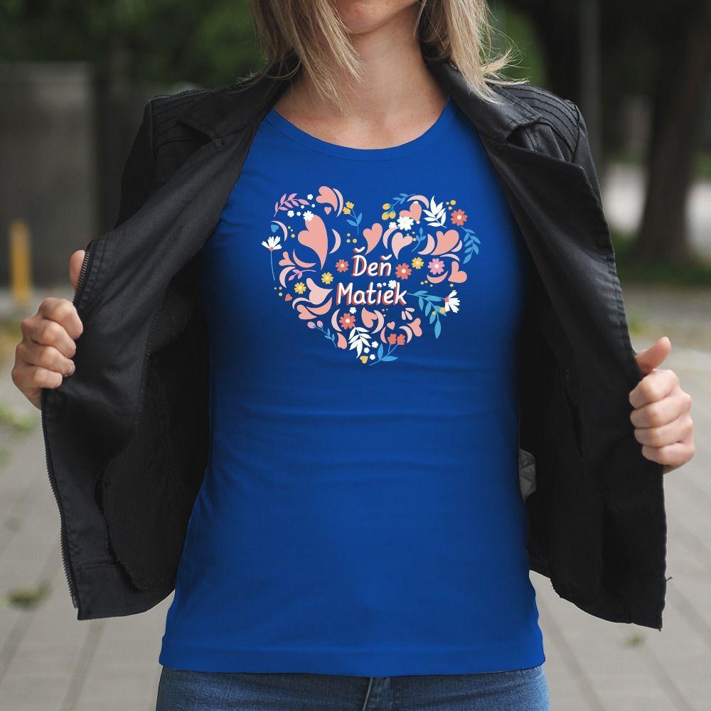 Dámske tričko s potlačou Deň matiek