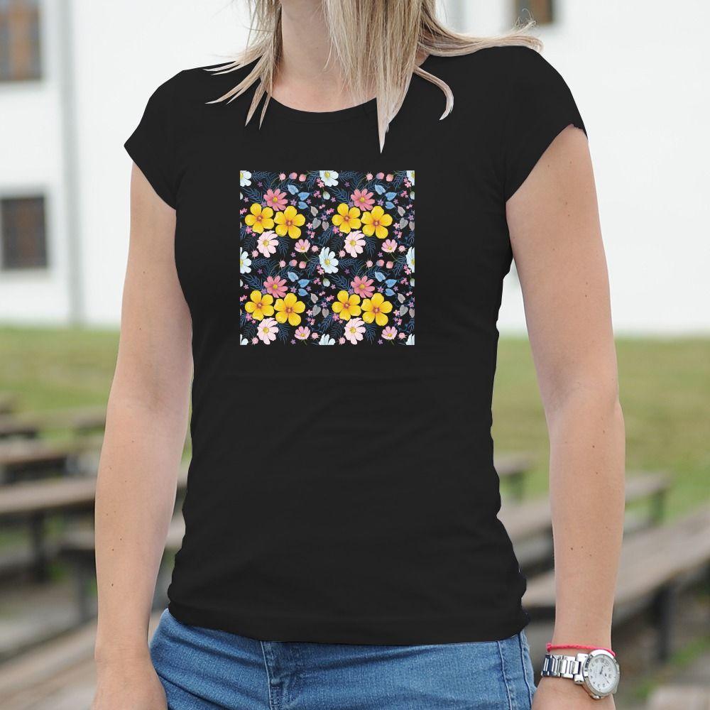 Dámske tričko s potlačou Flora
