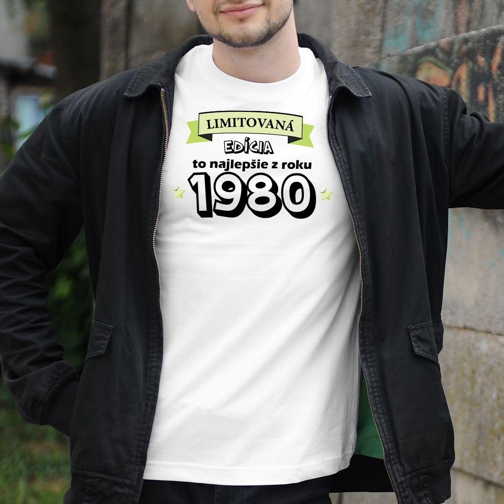 Pánske tričko s potlačou Limitovaná edícia