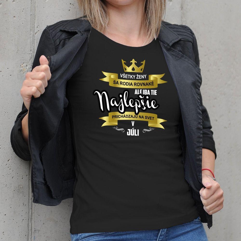 Dámske tričko s potlačou Najlepšia