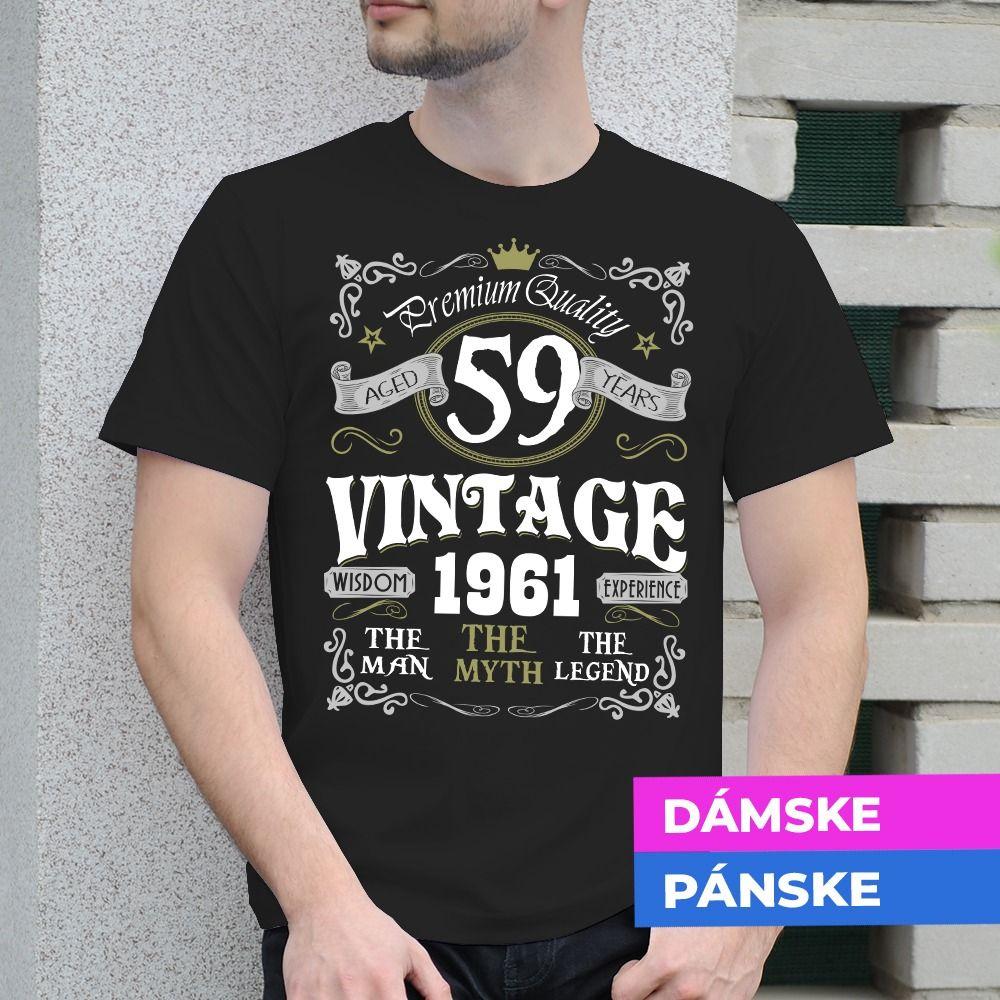 Tričko s potlačou Vintage Legend