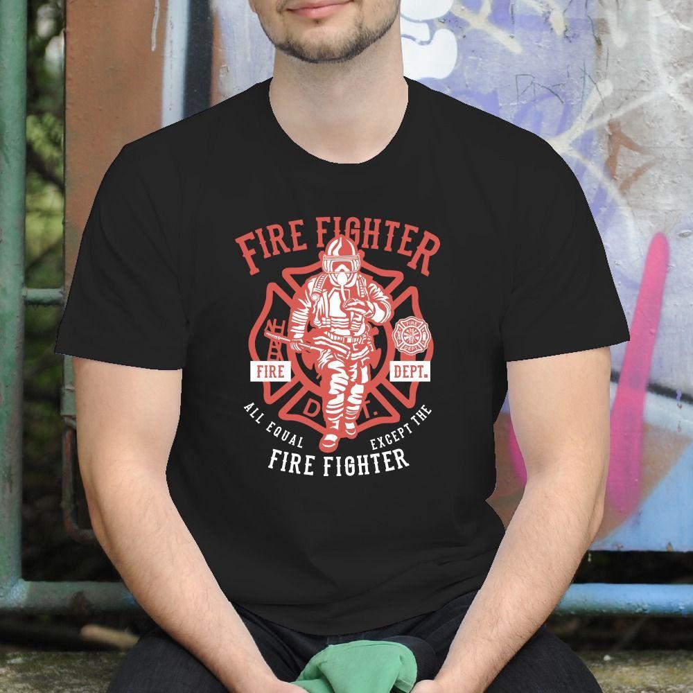 Pánske tričko s potlačou Hasič