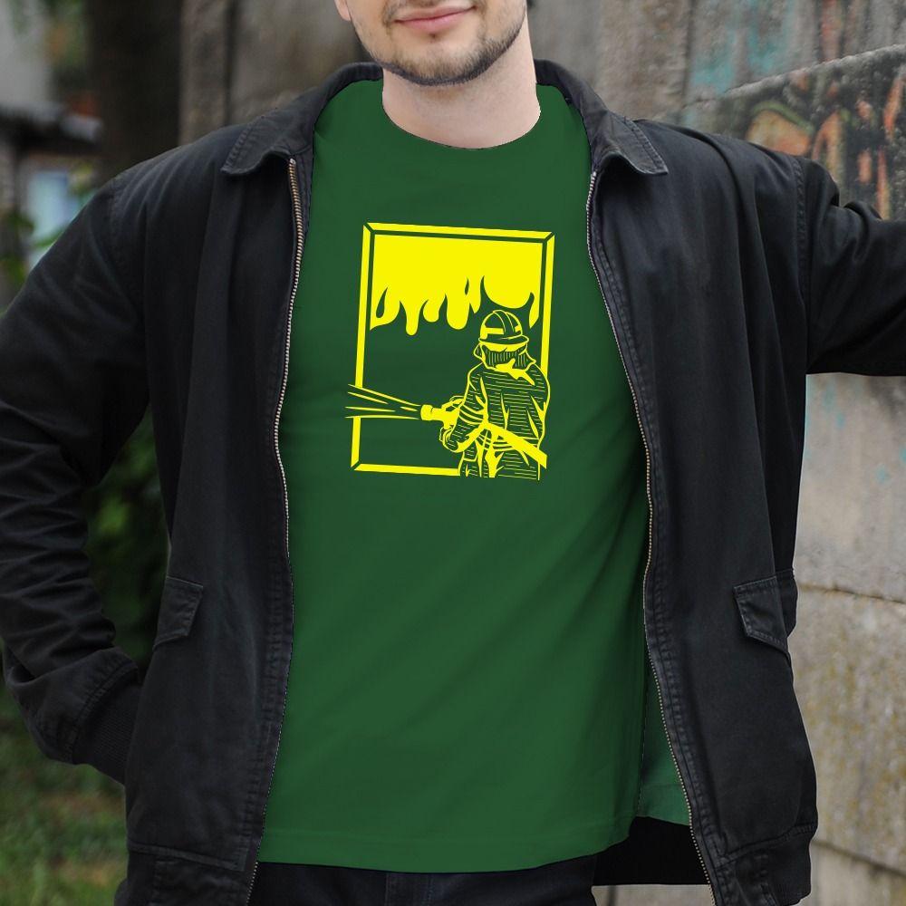 Pánske tričko s potlačou Hasiči