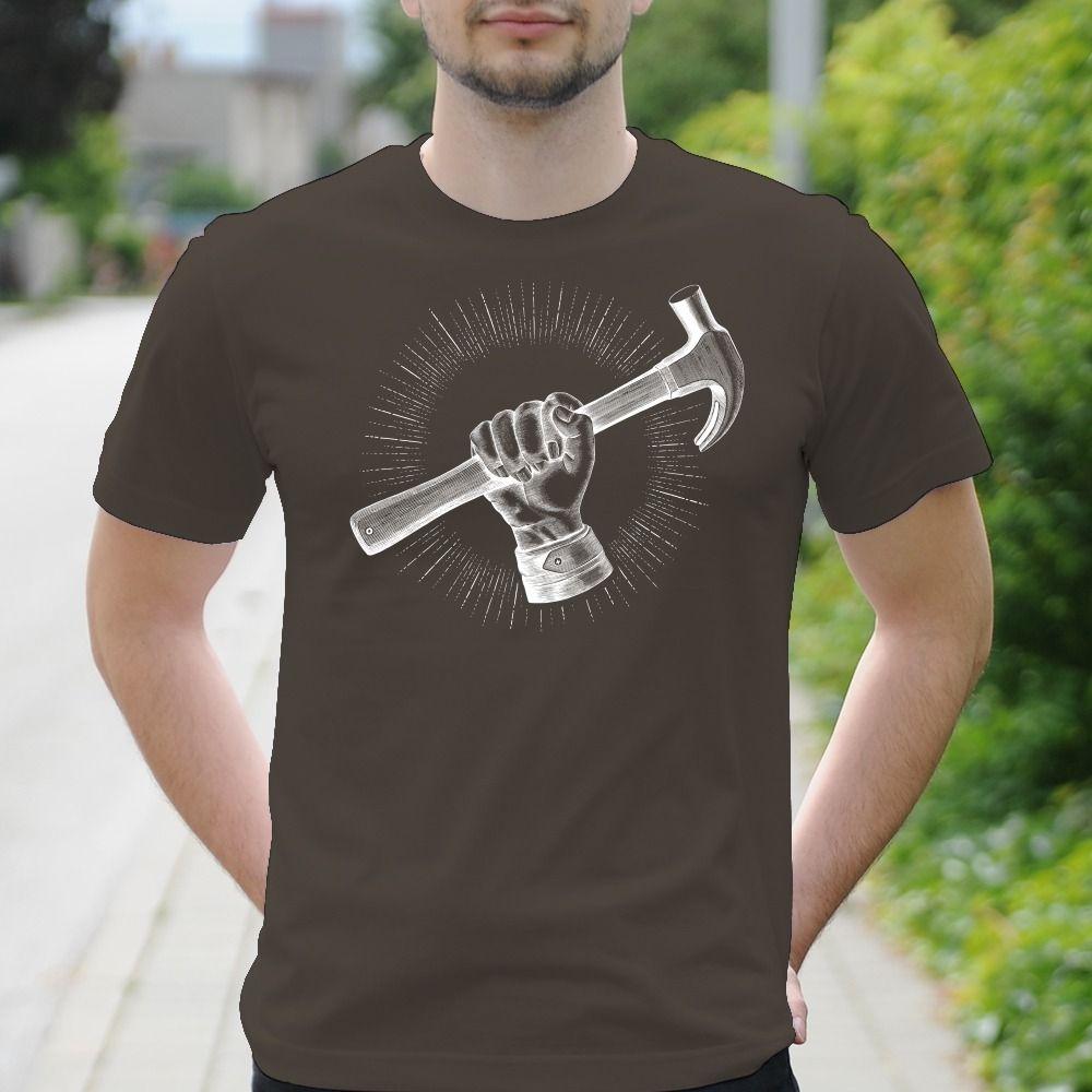 Pánske tričko s potlačou Kutil