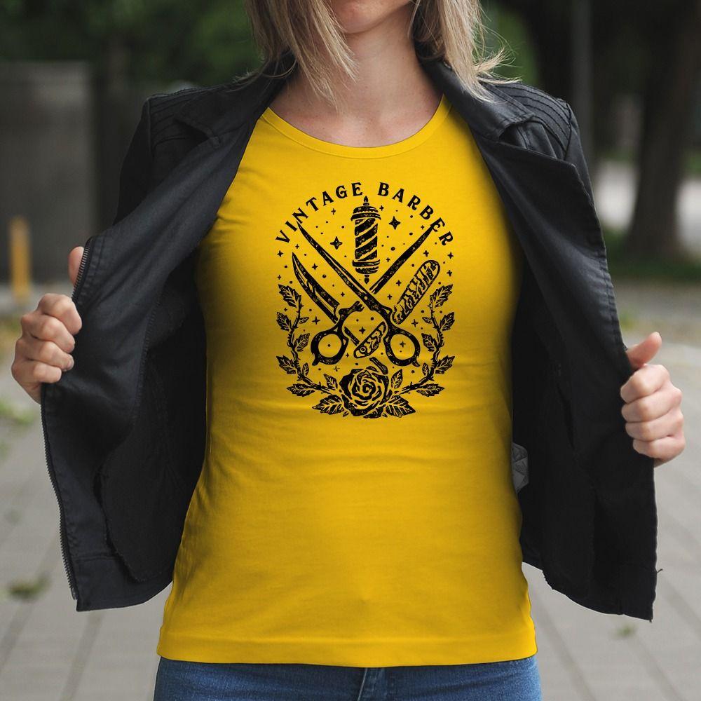 Dámske tričko s potlačou Kaderníctvo