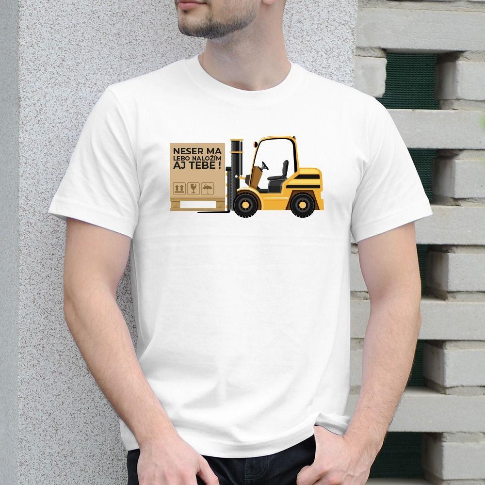 Pánske tričko s potlačou Skladník
