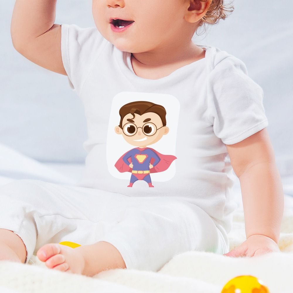 Detské body s potlačou Superman