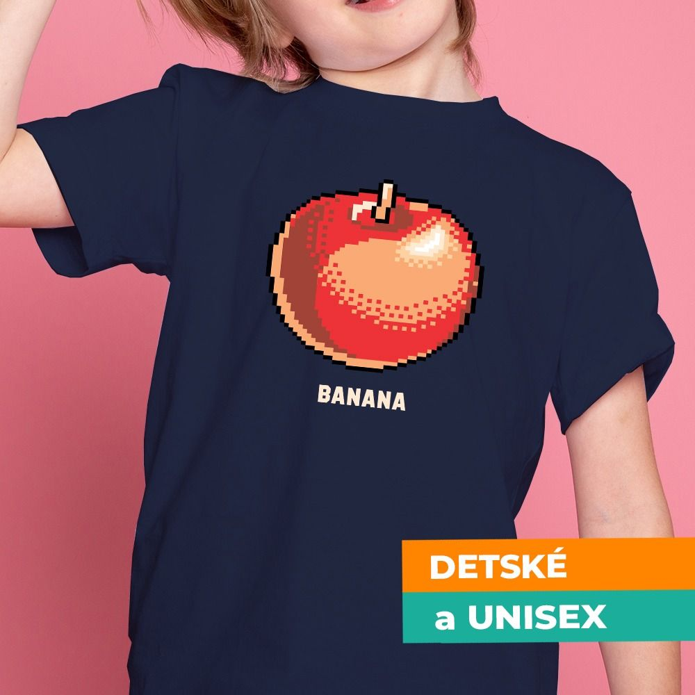 Tričko s potlačou Banana