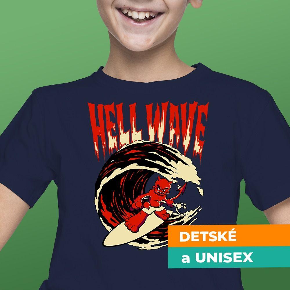 Tričko s potlačou Hellwave
