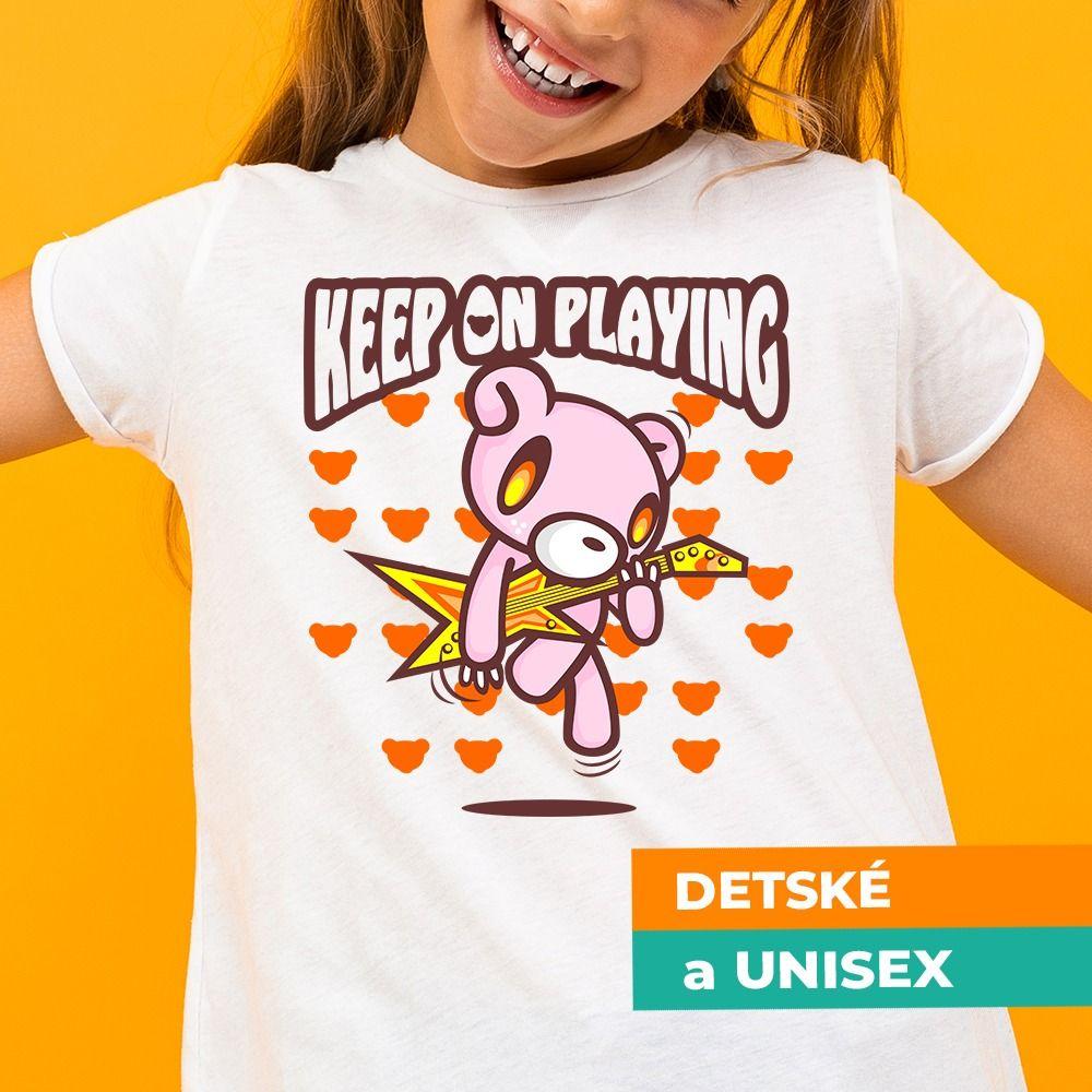 Tričko s potlačou Hra