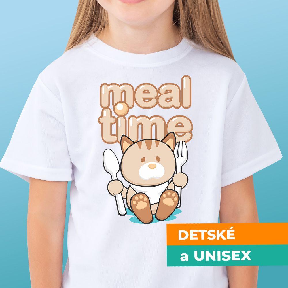 Tričko s potlačou Meal time