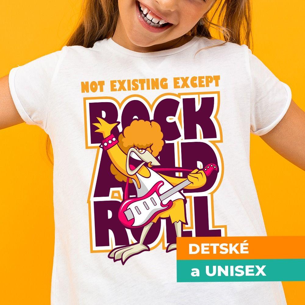 Tričko s potlačou Rock and Roll
