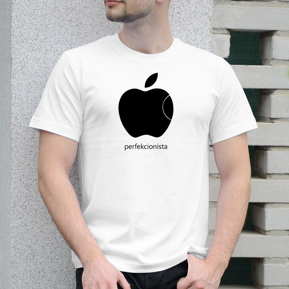 Pánske tričko s potlačou Apple
