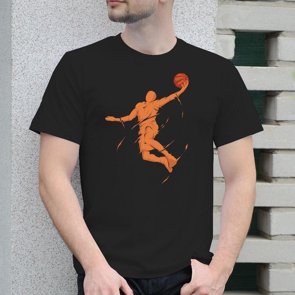 Pánske tričko s potlačou Basketball