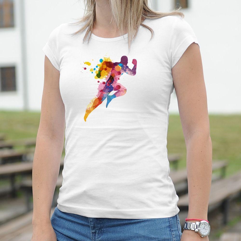Dámske tričko s potlačou Atletika