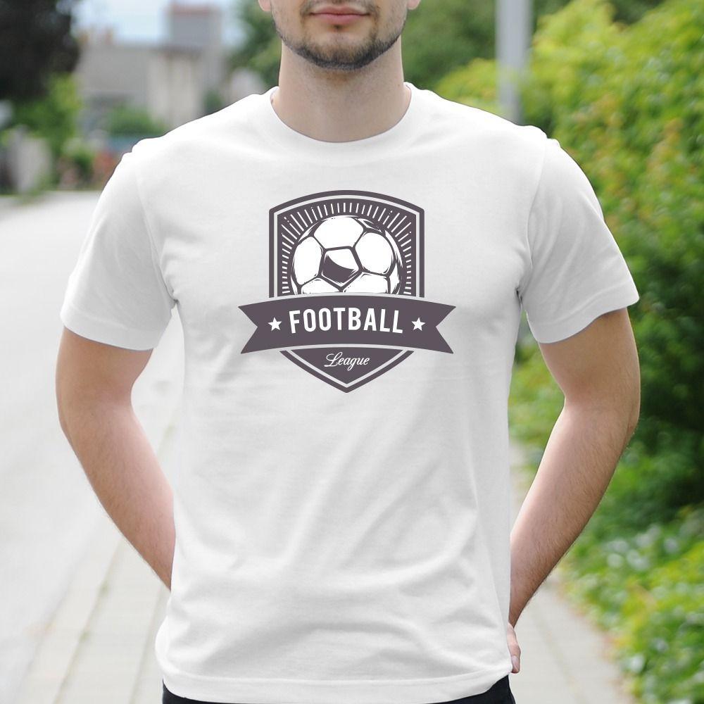 Pánske tričko s potlačou Futbal