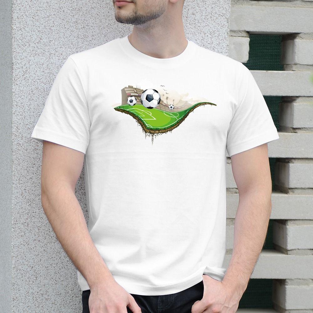 Pánske tričko s potlačou Football