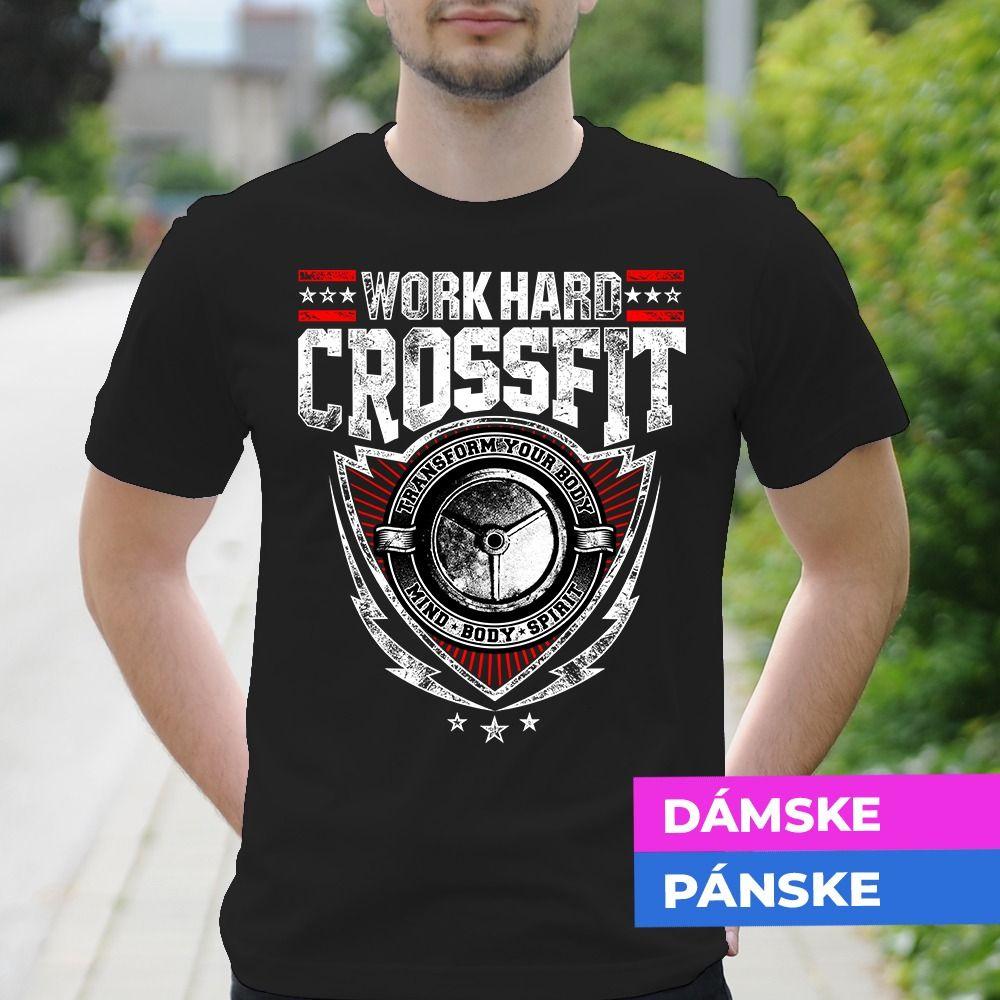 Tričko s potlačou Crossfit