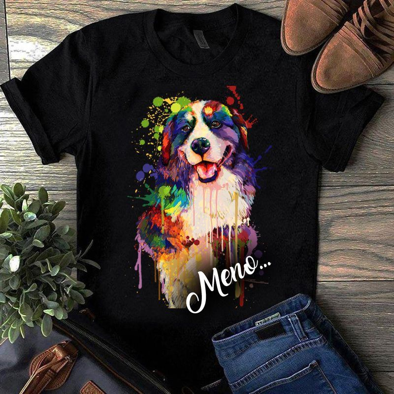 Tričko s potlačou Bernský salašnícky pes