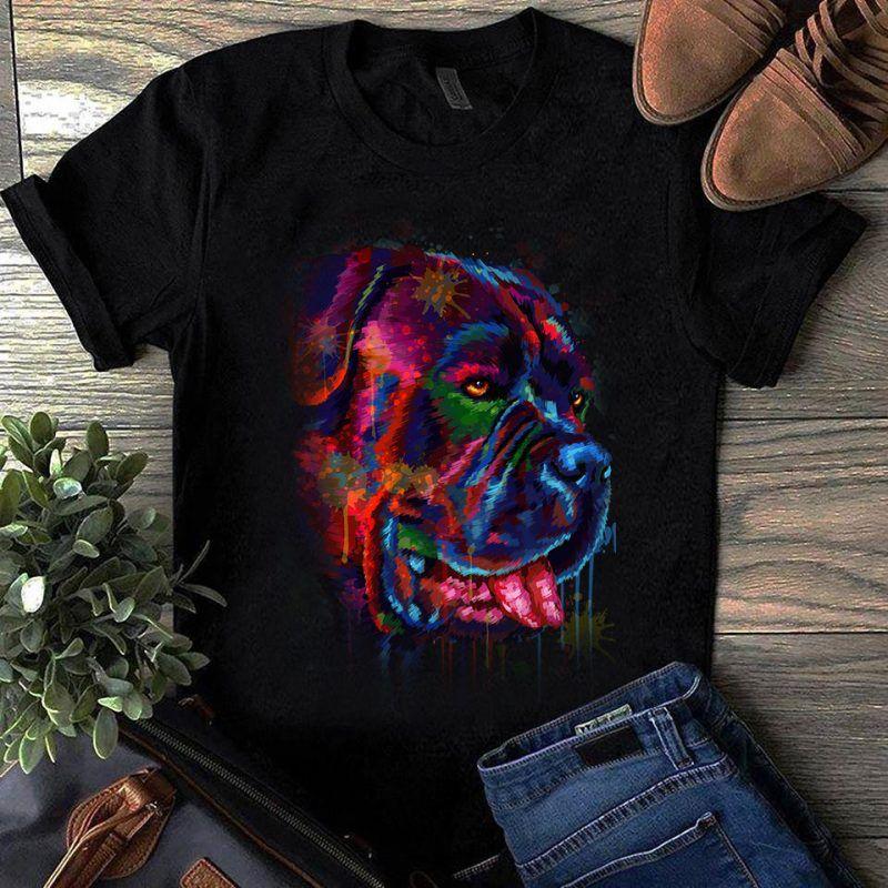 Tričko s potlačou Bulmastif