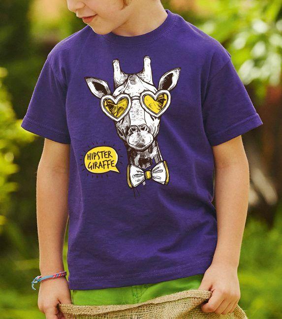 Detské tričko – Basic (24 Farieb)