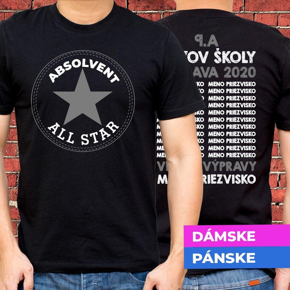 Tričko s potlačou All Star