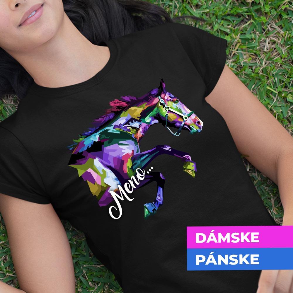 Tričko s potlačou Kôň