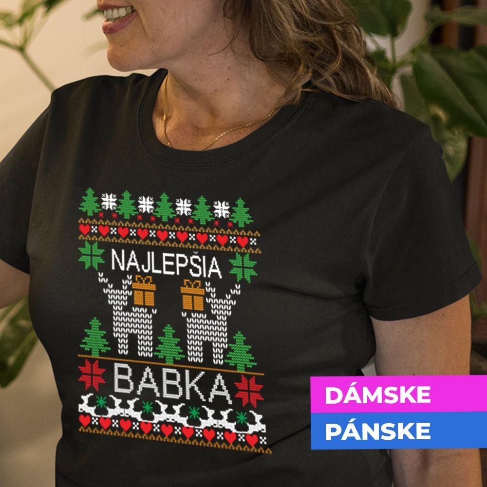 Vianočné tričko s potlačou