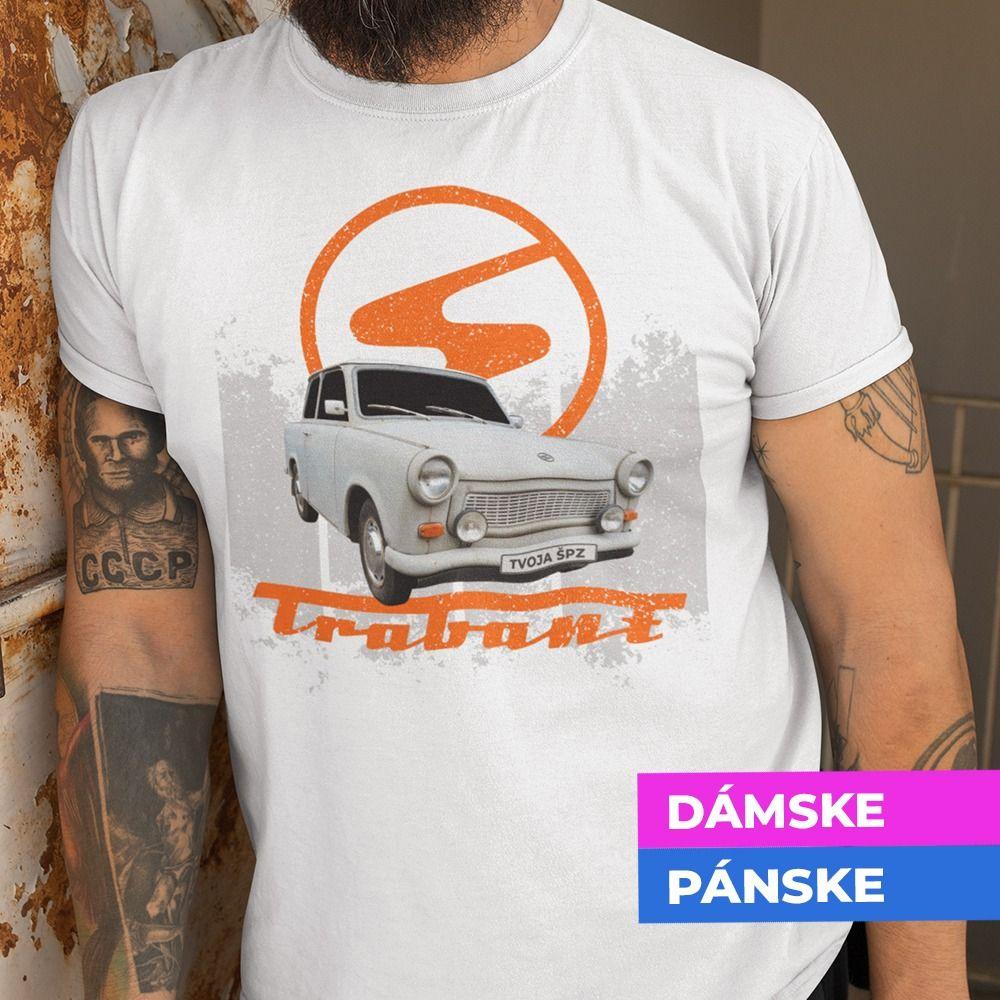 Tričko s potlačou Trabant
